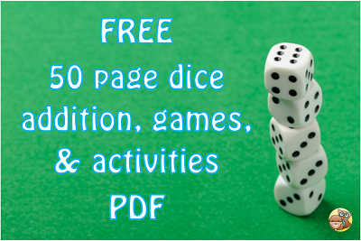 dice addition common core games and activities