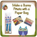 How to Make a Bunny Piñata on Paper Bag
