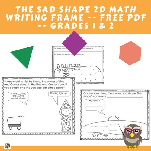 sad-shape-2D-math-story-writing-frame-free-instant-download
