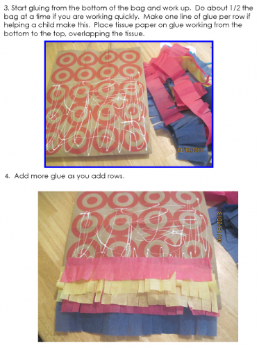 step-two-how-to-glue-tissue-paper-from-bottom-up-on-paper-bag
