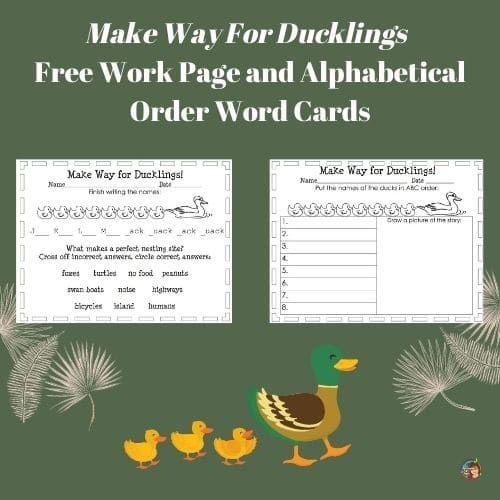 abc-order-make-way-for-ducklings-work-pages-free