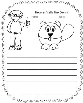 beaver-visits-the-dentist-story-prompt