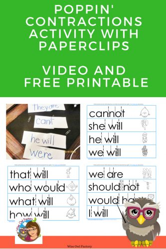contractions-activity-with-paperclips-free-printable-video-demonstration