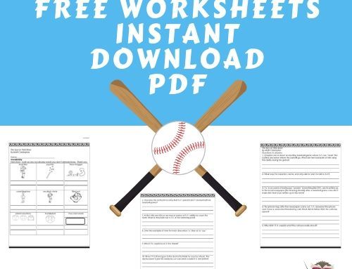 Spy on Third Base Free Printable