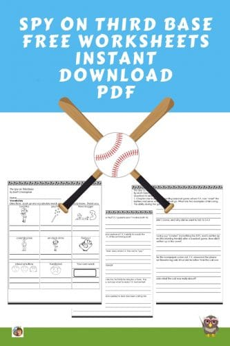spy-on-third-base-free-worksheets-and-answer-keys-instant-download-PDF