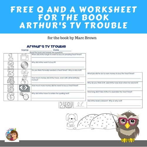 Arthur's TV Trouble Free Work Page