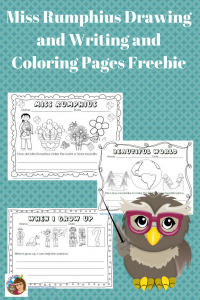 Miss-Rumphius-color-and-writing-free-printable-download
