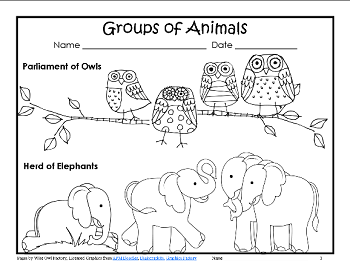 animal-group-names-freebie
