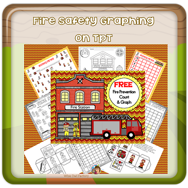 October Free fire-safety-graphing-freebie