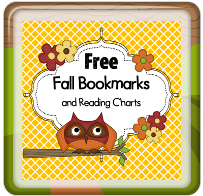 free-fall-bookmarks-reading-logs-plus-double-plus-one-graphing