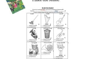 I-Like-The-Music-freebie-work-page-and-answer-key-instruments