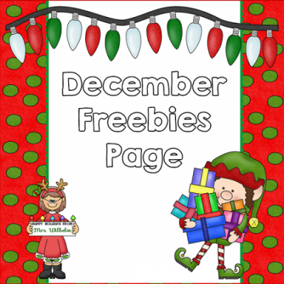free resources for December page