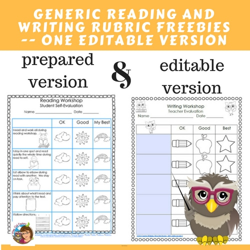 reading-and-writing-workshop-rubrics-one-prepared-version-one-editable-version-free