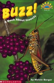 Buzz! A Book About Insects, Hello Reader Level 3, Science