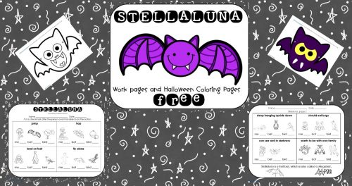 Stellaluna Free Book Printable