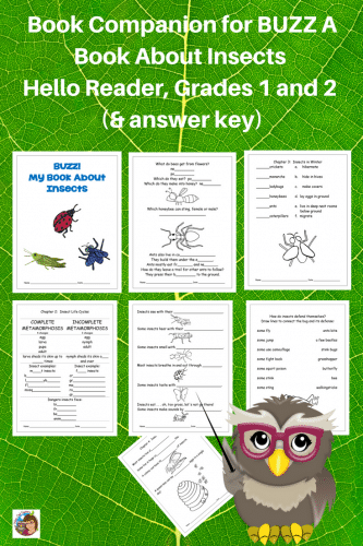 book-companion-freebie-for-Buzz-a-book-about-insects-Hello-Reader