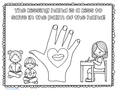 image relating to Kissing Hand Printable referred to as Cost-free Printable for The Kissing Hand Good Owl Manufacturing unit