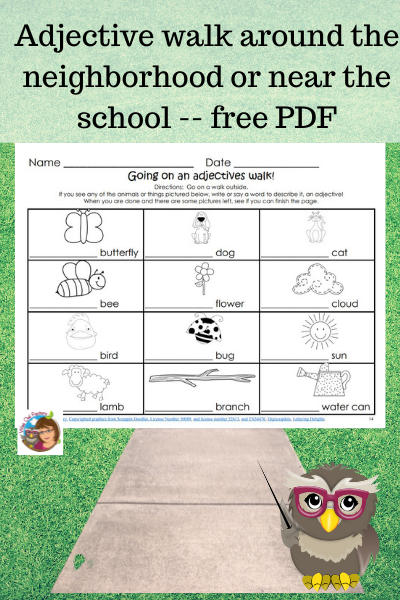 WHAT IS AN ADJECTIVE? Free Printable