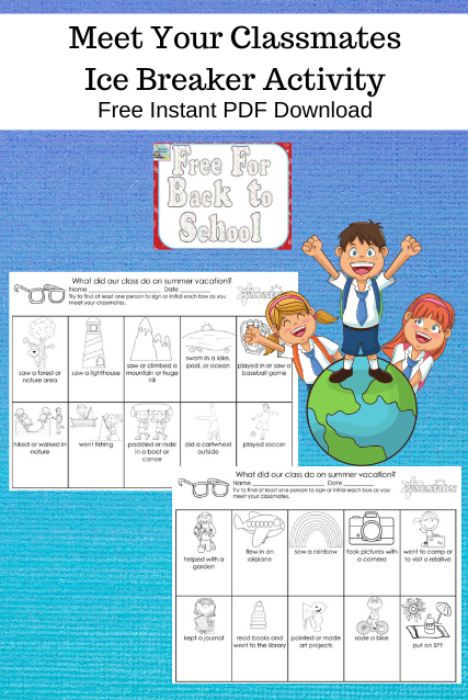 Getting to Know You Classroom Freebie