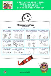 kindergarten-diary-free-worksheet-key-and-drawing-page-printable