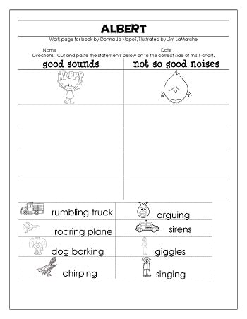 Albert by Donna Jo Napoli Free Printable