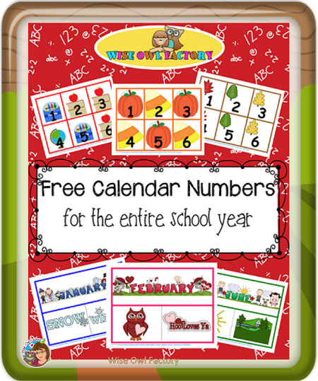 Free-calendar-pieces-through-the-school-year-by-WiseOwlFactory