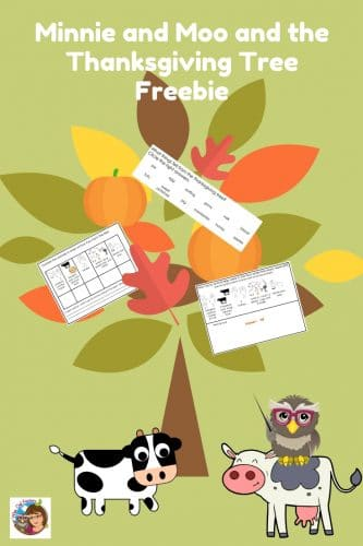 Minnie-Moo-Thanksgiving-Tree-free-work-pages-printable