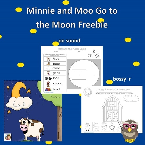 Minnie-Moo-go-to-Moon-free-work-pages