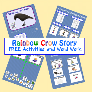 Free Resources for RAINBOW CROW