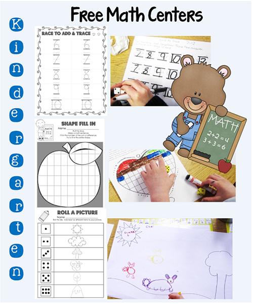 free-math-centers-kindergarten