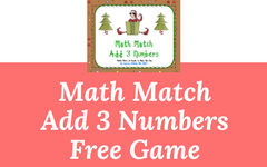 Three Addends Math