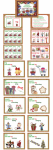 Free preview of Merry Matching game with drop e, add ing, letter size teaching posters