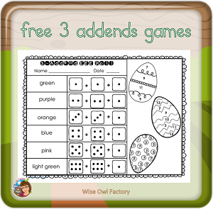 3-addends freebie printable