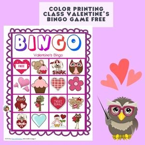 free-color-version-of-Valentines-bingo-class-game