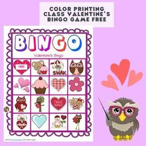 free-color-version-of-Valentines-bingo-class-game