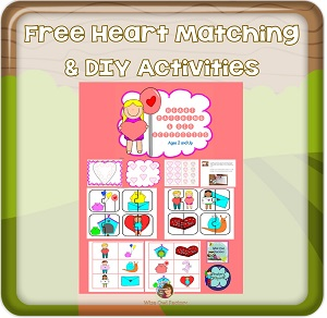 free-heart-matching-and-DIY-activities