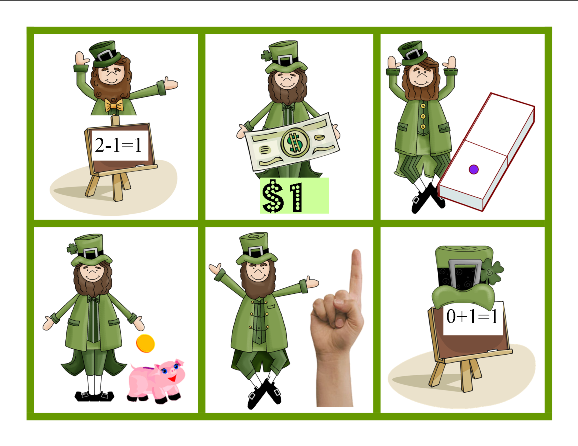 FREE Number Names Games with a St. Patrick'sDay Theme