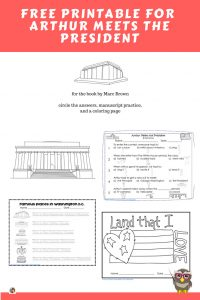 Arthur-meets-the-president-book-companion-workpages-free-printable