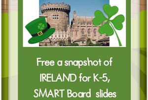 Free Ireland Snapshot SMART board Interactive File