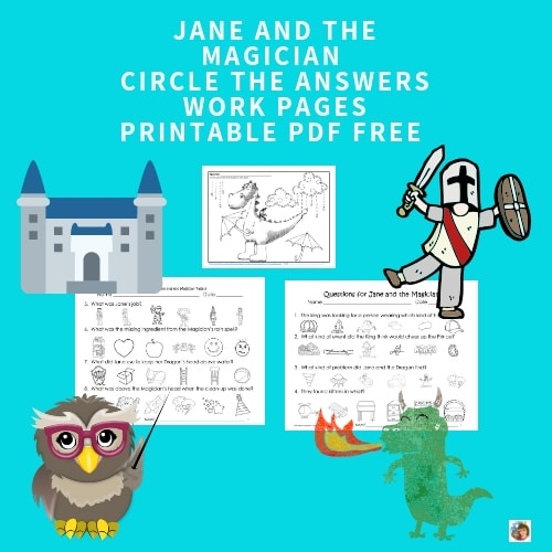 Jane-and-the-Magician-circle-the-answers-free-work-pgs