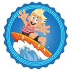 Surfer-Kids-Clip-Art on Teachers Pay Teachers