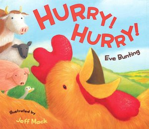 Hurry! Hurry! by Eve Bunting cover photo