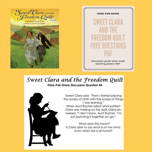 for-Sweet-Clara-and-the-Freedom-Quilt-free-discussion-questions-for-think-pair-share