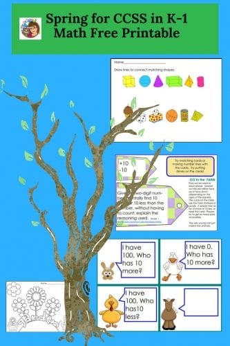 spring-for-math-ccss-K-and-1-freebie