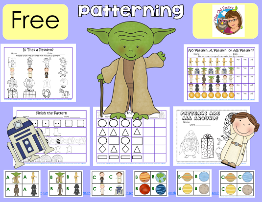 Patterns PDF free pages, photo of most of the included pages