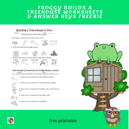 Froggy-Builds--aTree-House-Work-Pag-eand-Key-free-PDF