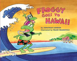 Froggy Goes to Hawaii book cover photo