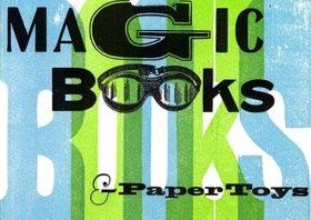 Magic Books and Paper Toys by Esther K. Smith book cover photo