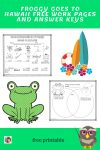 Froggy Goes to Hawaii Venn Diagram Compare Contrast