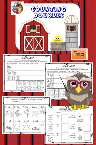 Double-the-ducks-math-cut-and-paste-worksheets-freebie